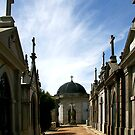 Cemetery Street by Anne-Marie Bokslag