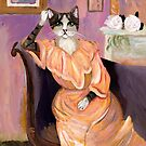 Portrait of a Cat by Ryan Conners