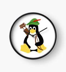 Robin Tux - Arch Linux Penguin Clock