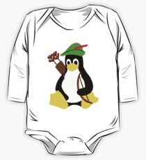 Robin Tux - Arch Linux Penguin One Piece - Long Sleeve