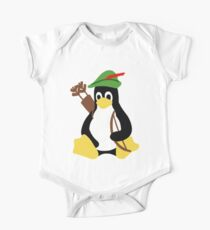 Robin Tux - Arch Linux Penguin One Piece - Short Sleeve