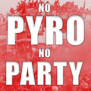 NO PYRO NO FIESTA - LFC Liverpool Design Champions League Final de ConArtistLFC