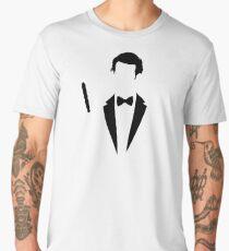 11th Doctor Who Minimalist  Men's Premium T-Shirt