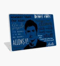The Doctor Laptop Skin