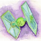 Imperial Lime Starships by PrettyGeekChic