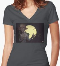 Unknown Women's Fitted V-Neck T-Shirt