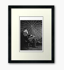 Tesla Classic Design Framed Print