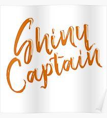 Shiny Captain Poster