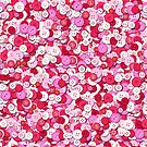 Buttons of pink (pattern) by Yampimon