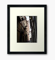 Alleyways Framed Print