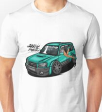 Bagged Subaru Forester CuteEdit 2003 Unisex T-Shirt