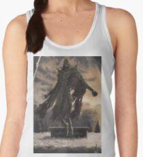 Skyrim Dragon Priest Fan Art Poster Women's Tank Top