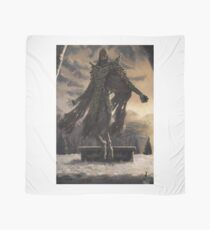 Skyrim Dragon Priest Fan Art Poster Scarf