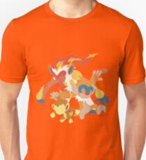 Chimchar Evolution Unisex T-Shirt