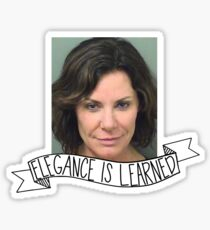 elegance is learned, my friends Sticker