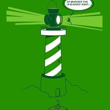 The Green Lanternhouse by funkyhanger