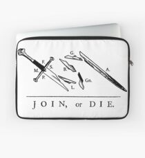 Join or Die // Fellowship of the Ring Laptop Sleeve