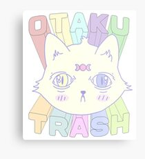 Otaku Trash Metal Print