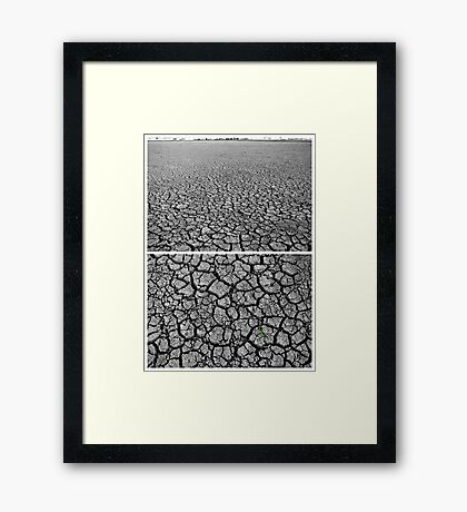 Dangars Lagoon, Uralla, New South Wales, Australia - Diptych Framed Print