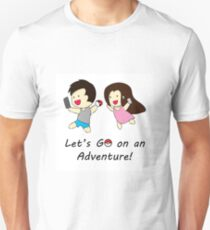 Pokemon GO Couple Unisex T-Shirt