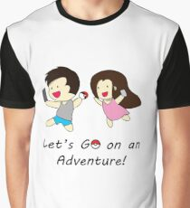 Pokemon GO Couple Graphic T-Shirt