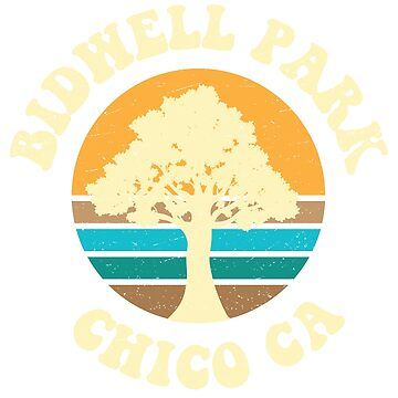 Bidwell Park - Chico Ca Vintage Inspired by hiltondesigns