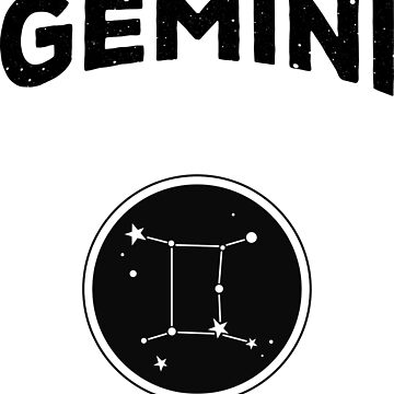 Gemini Zodiac Astrology by AlmostBrand
