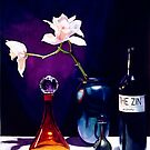 """The Zin"" Still Life Watercolor by Paul Jackson"
