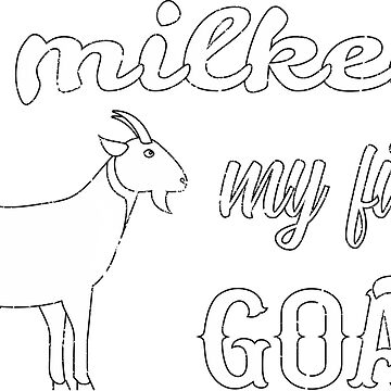 I milked my first goat by AlmostBrand