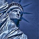 Liberty in Blue by Dyle Warren