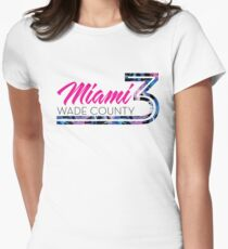 Miami-Wade County Women's Fitted T-Shirt