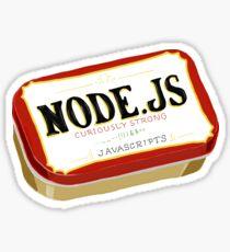 Node.js Curiously Strong JavaScript Sticker