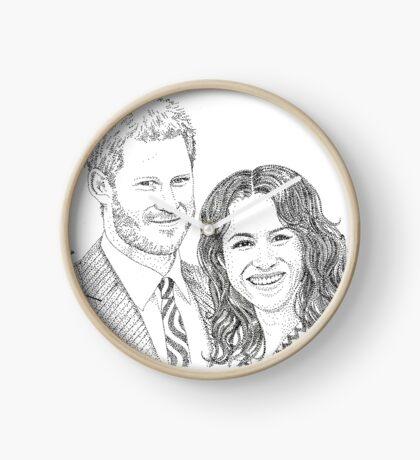 Royal love Clock