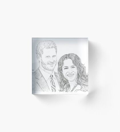 Royal love Acrylic Block