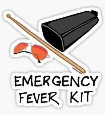 Emergency Fever Kit Sticker