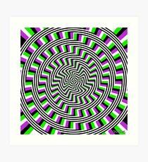 Self-Moving Unspirals Art Print