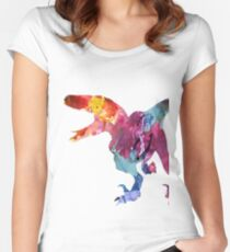 Funk-o-Raptor Women's Fitted Scoop T-Shirt