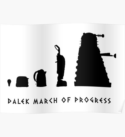 The Evolution of the Kaled Poster