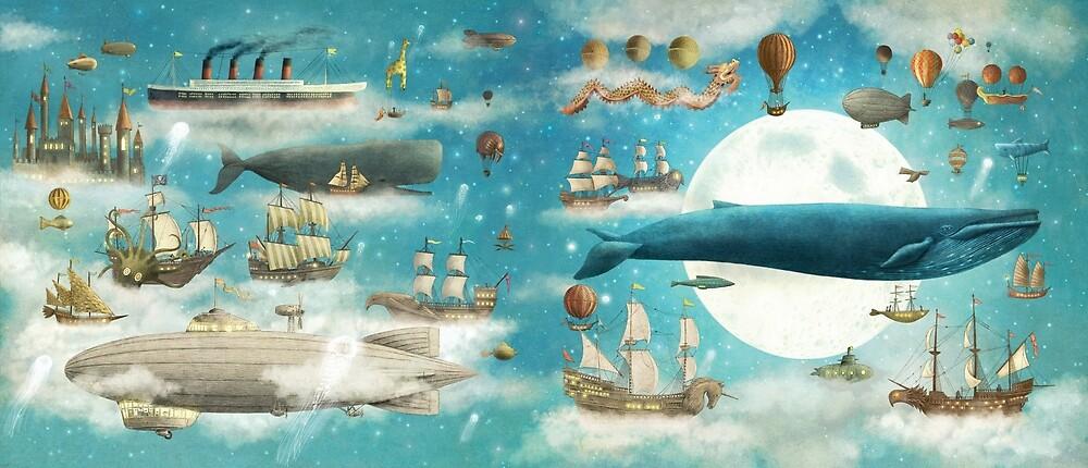 Quot Ocean Meets Sky Original Jacket Art Quot By Terry Fan