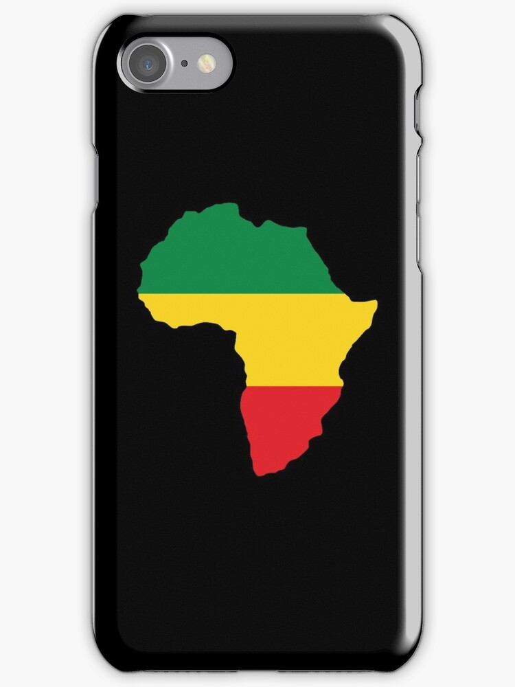Green, Gold & Red Africa Flag by forgottentongue