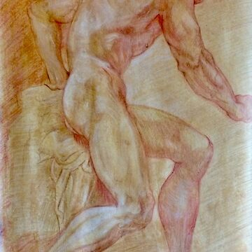 Study of Male Figure by HennessyChe