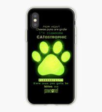 Miraculous Ladybug - Chat Noir / funny cat puns iPhone Case