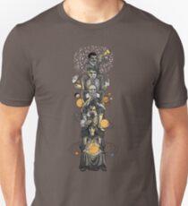 Aufsteigende Astronomie Unisex T-Shirt