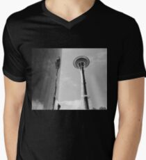 Seattle Needle to space V-Neck T-Shirt