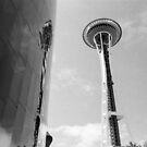 Seattle Needle to space by 30ghosts