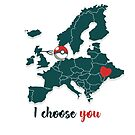 I choose you by Yoo-lee-a