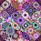 Moroccan bazaar | purple by camcreativedk