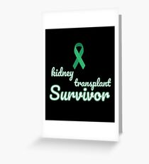 Kidney transplant greeting cards redbubble kidney transplant greeting card m4hsunfo