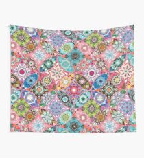Moroccan bazaar | pink Wall Tapestry