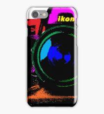 Camera pop art iPhone Case/Skin